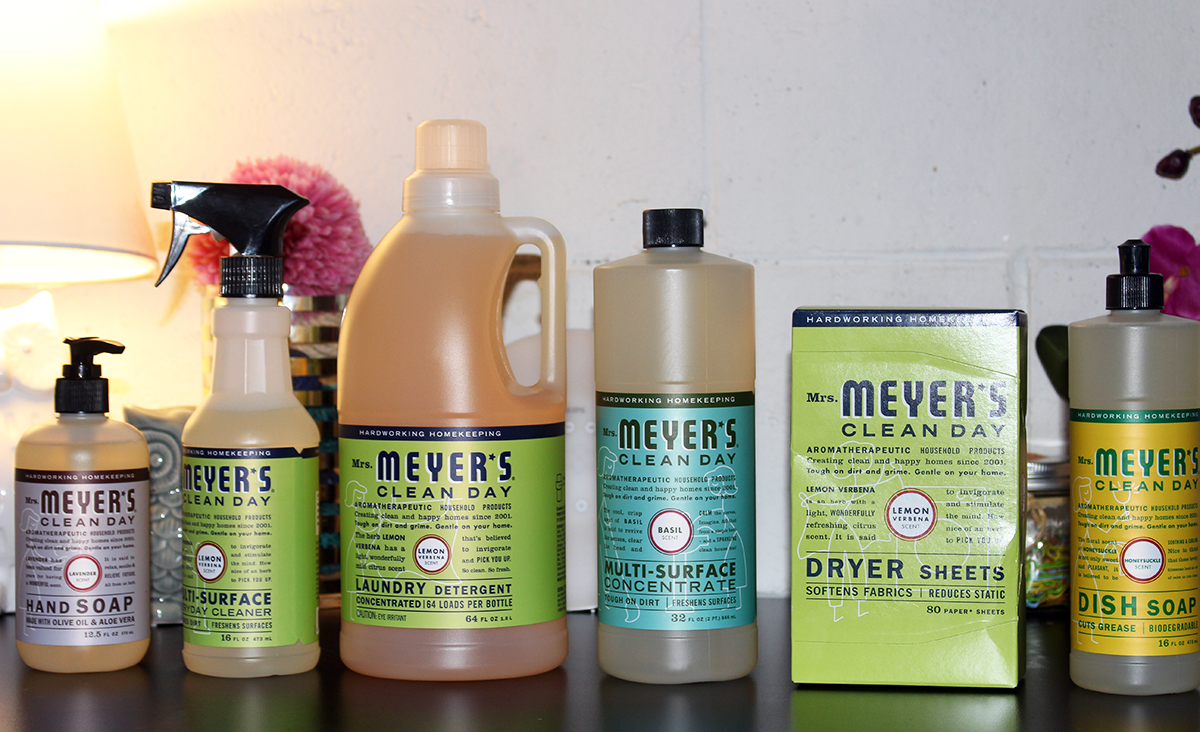 5 Tips to Get Your House Guest Ready in 10 Minutes or Less + Giveaway #MrsMeyersCA