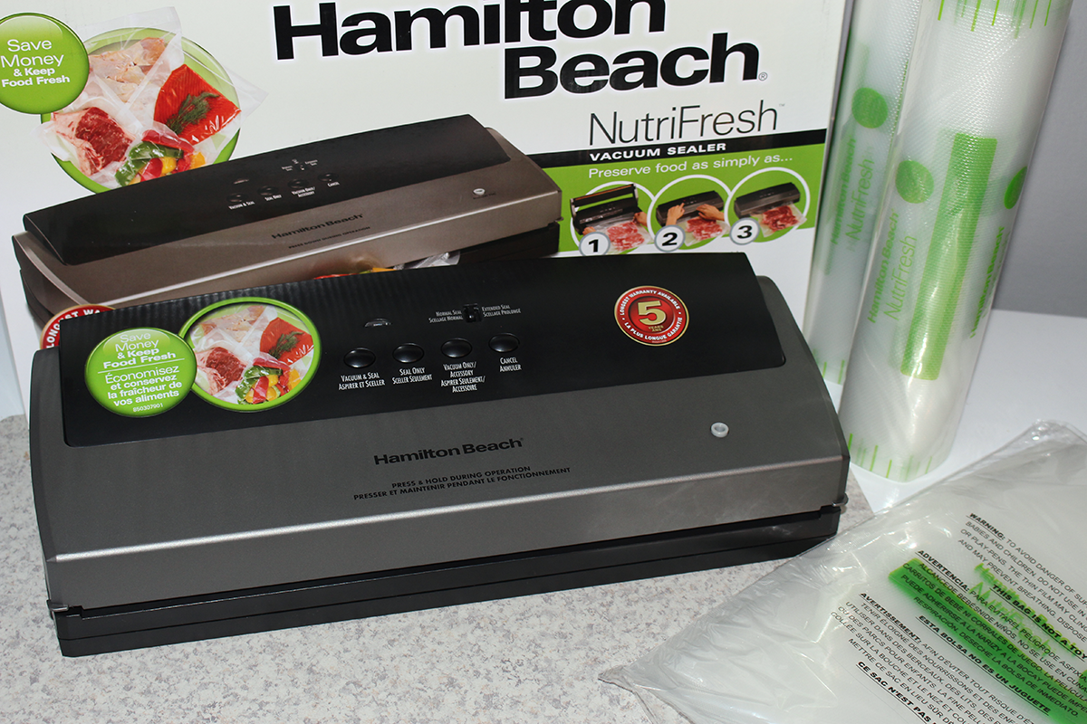 Last Minute Gift Idea: The NutriFresh Vacuum Sealer From Hamilton Beach