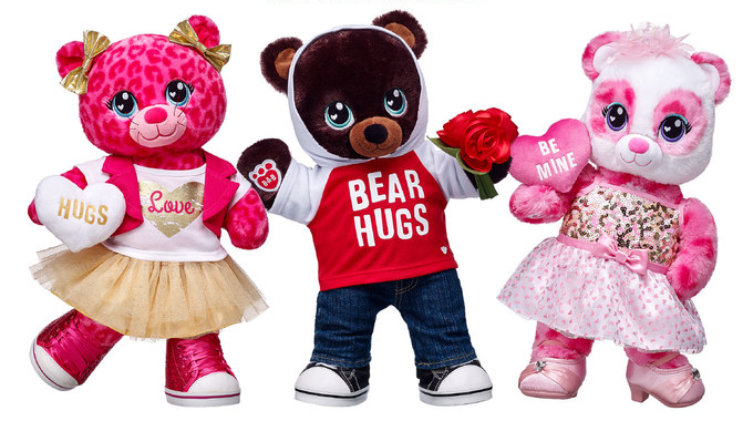 Celebrate Valentine's Day With Build-A-Bear Workshop