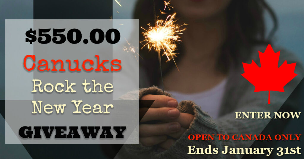 Canucks ROCK The New Year $550 CASH Giveaway!