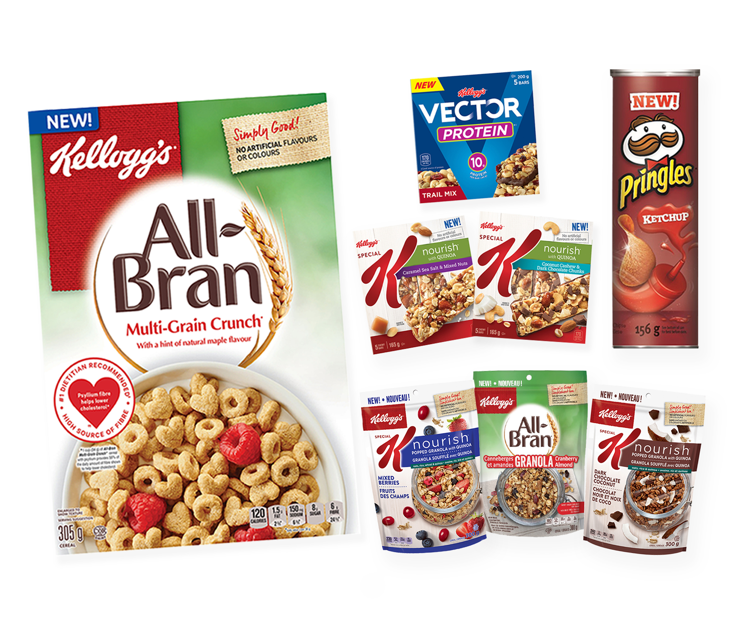 Amazing New Products From Kellogg's Canada Are Here + GIVEAWAY!