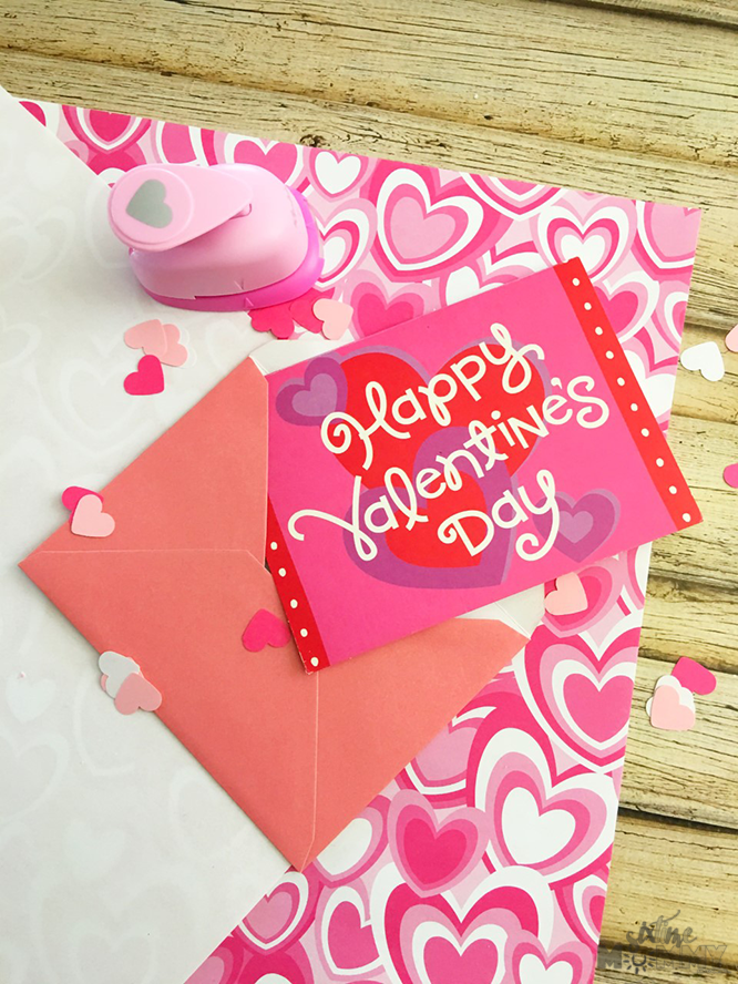 diy valentine's day card confetti - six time mommy and counting…, Ideas