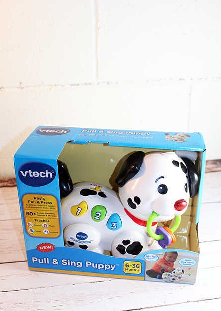 Baby Fun With The Pull & Sing Puppy From VTech