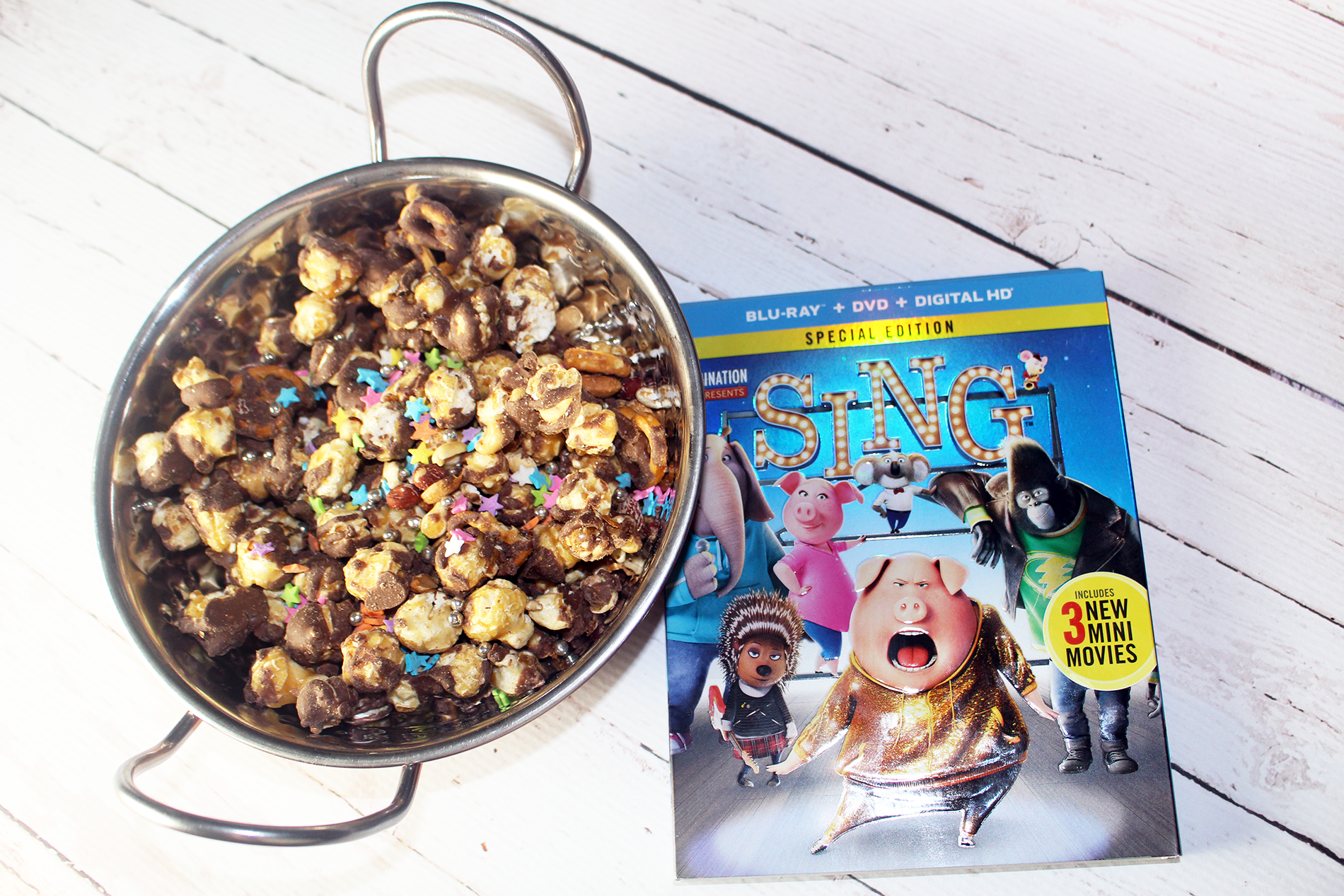 Family Movie Night With Sing Now on Blu-Ray and DVD + Sing Inspired Movie Night Treats!
