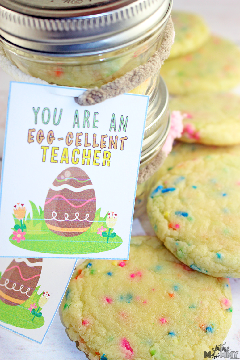 Teacher easter gift idea free teachers card printable six time i was worried about making cookies i had never made before but i worried for nothing these were loved by everyone in the family even my husband negle Image collections
