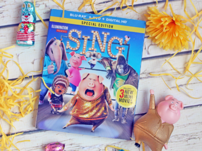SING Blu-Ray & DVD Makes The PERFECT Addition to Any Easter Basket This Year! #SingMovie #SingSquad