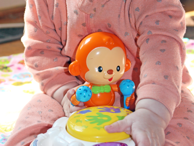 Drum Up Learning Fun With Baby Beats Monkey Drum™ From VTech