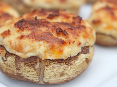 Deliciously Stuffed Mushrooms Recipe #BornOnTheFarm