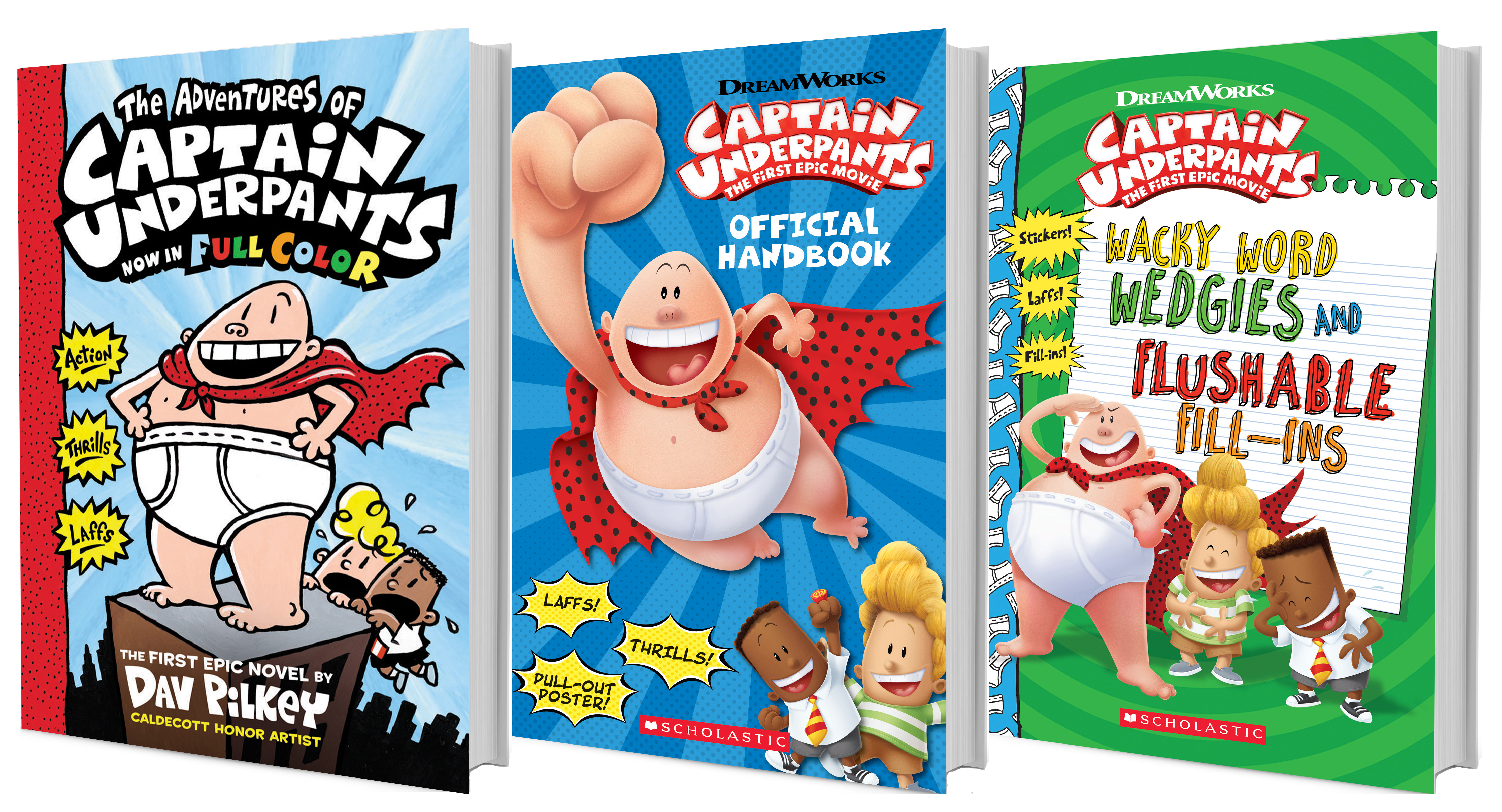 Get Excited For The Quot Captain Underpants The First Epic