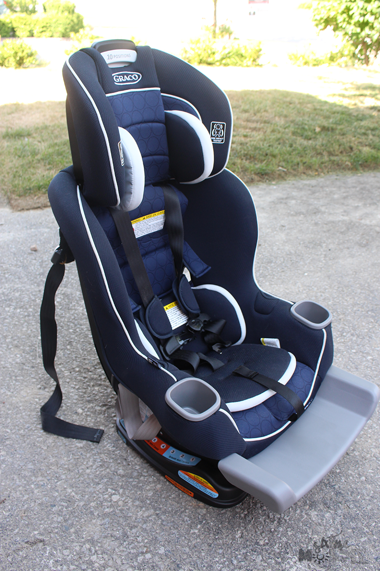 Graco Extend2Fit Convertible Car Seat Review - Six Time Mommy and ...