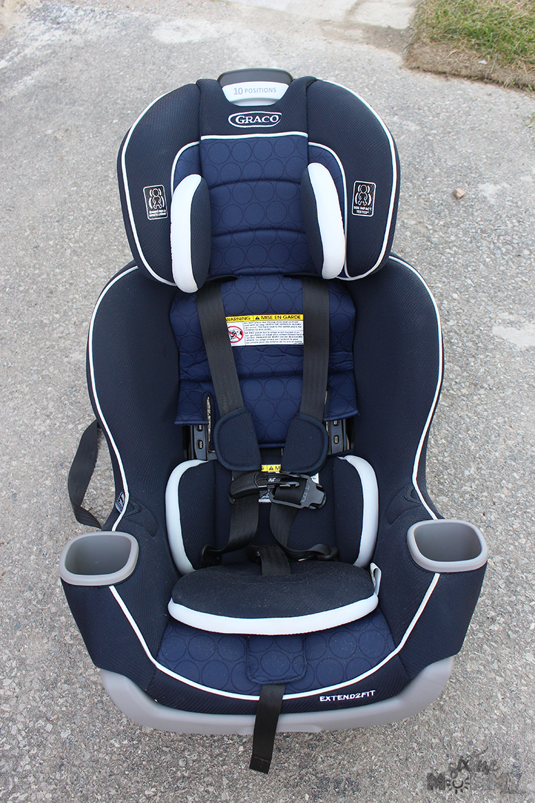 Graco Extend2fit Convertible Car Seat Review Six Time