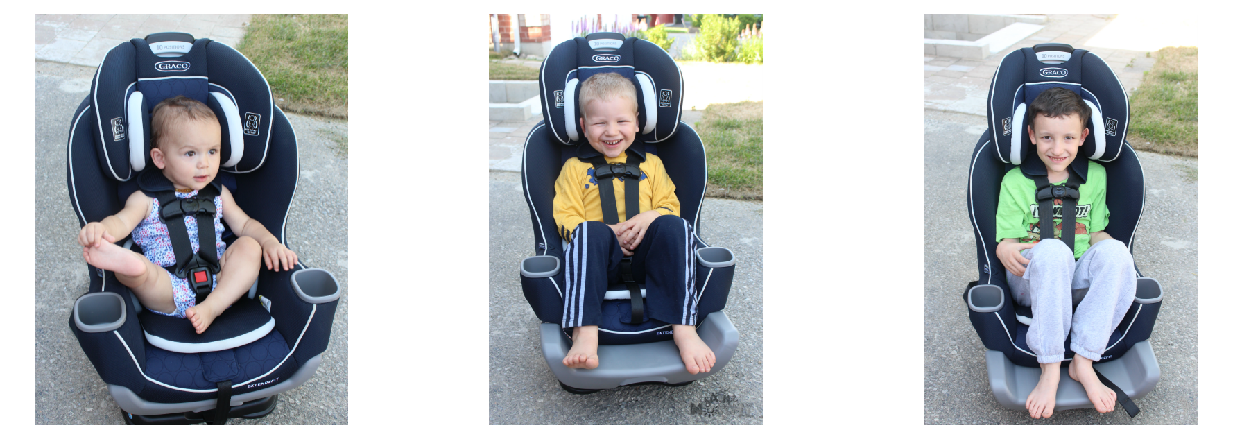 The Graco Extend2Fit Convertible Car Seat Fits All Three Of Them Comfortably And Takes A Lot Guesswork Out Complicated Installations