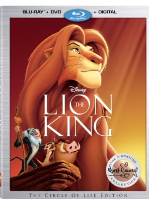 The Lion King Signature Collection – GIVEAWAY!
