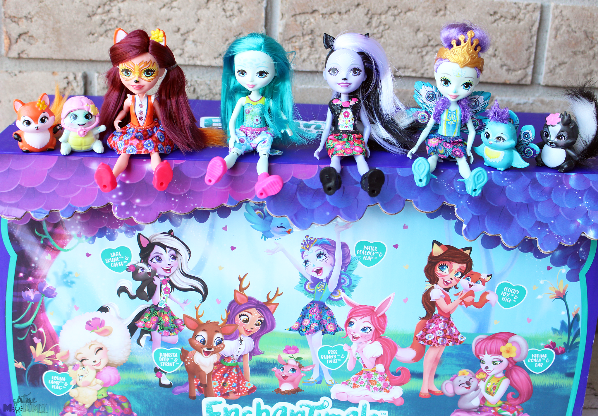 new enchantimals dolls where caring is our everything
