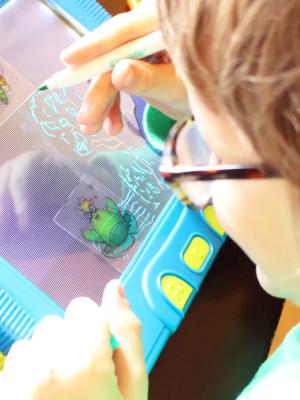 Let Their Imaginations Go Wild With The Crayola Magic Scene Creator + Giveaway! #CrayolaMagicSceneCreator