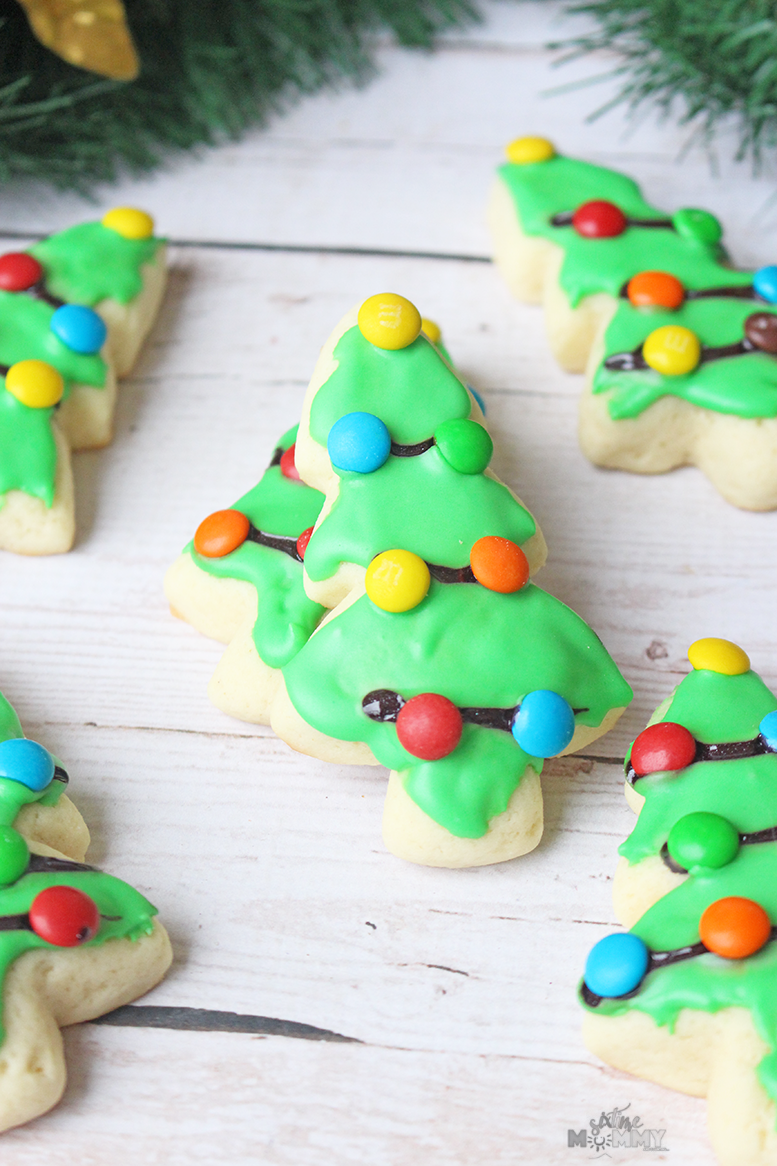 Christmas Tree Sugar Cookies - Six Time Mommy and Counting…Six Time ...