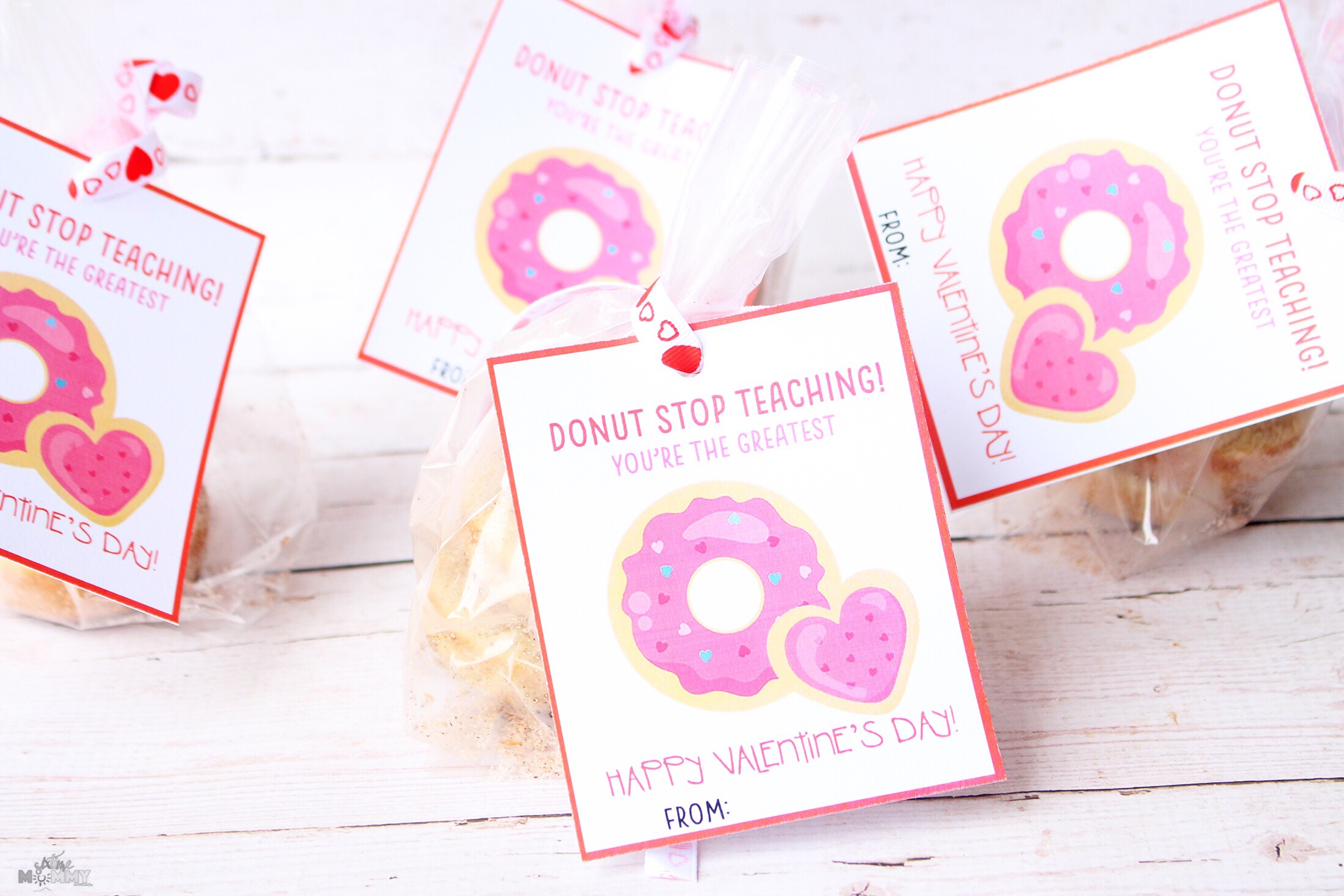image about Printable Teacher Valentine Cards Free identified as Valentines Playing cards + Snacks for Academics With No cost Printable