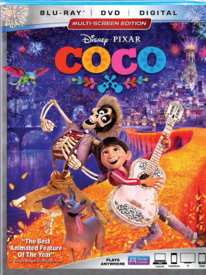 Disney Pixar's COCO on Blu-Ray Feb 27 + Giveaway