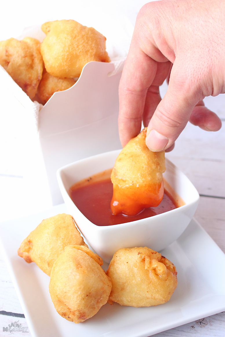 Homemade Sweet and Sour Chinese Chicken Balls - sixtimemommy.com