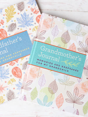 Grandmother's Journal & Grandfather's Journal: The PERFECT Keepsakes + GIVEAWAY!