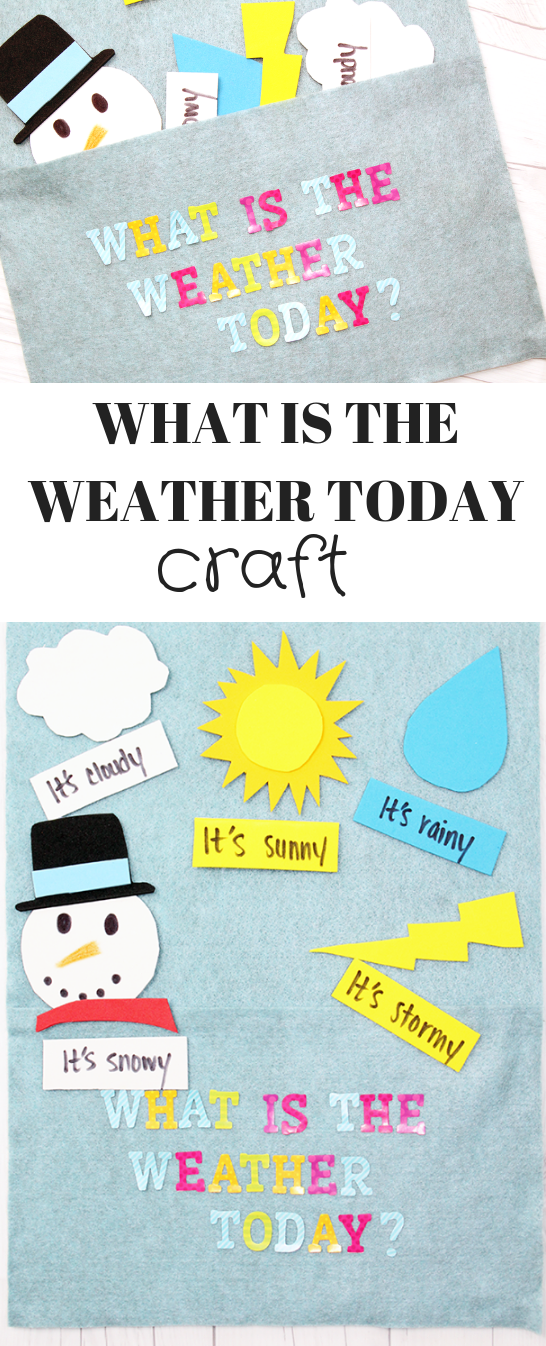 What is the Weather Today Craft
