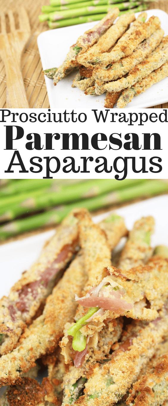 Prosciutto Wrapped Parmesan Asparagus
