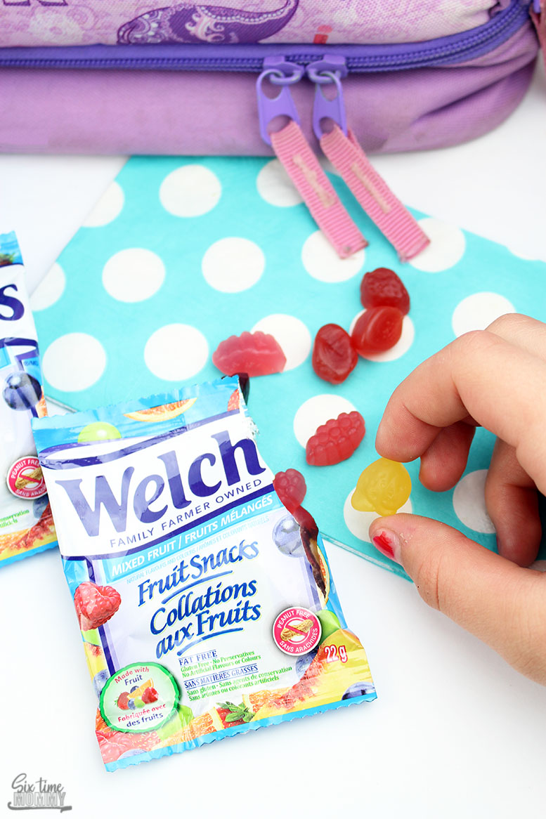 Headin' Back-to-School in Lunchbox Style With Welch's® Fruit Snacks!
